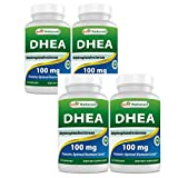 Best Naturals DHEA 100mg Supplement 60 Capsules (Pack of 4)