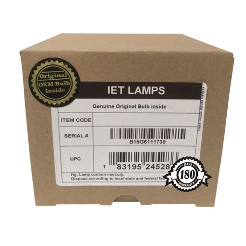OPTOMA EH500 Projector Lamp Assembly with High Quality Genuine Original Philips UHP Bulb Inside BL-FU310B by IET Lamps