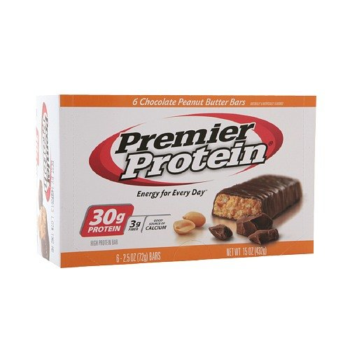 Premier Protein 30g Protein Bars, Chocolate Peanut Butter 2.5 oz (Pack of - 2.5 Bar Ounce
