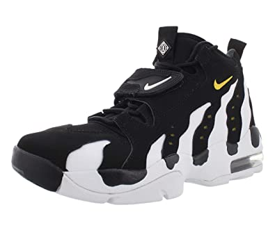 hot sales 0c2d7 27e4b Amazon.com   Nike Air DT Max 96 Men s High Top Sneakers, Black Varsity  Maize-White, 11.5 M US   Fashion Sneakers