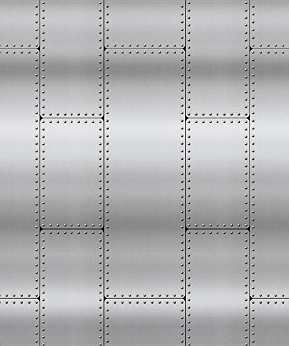 Riveted Metal Plastic Backdrop (4 Ft. X 30 FT.) (Group Easy Vbs 2017) -