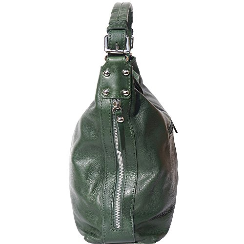 strap removable Handle with removable shoulder 3013 Hobo Green Dark bag and qwXxBTg