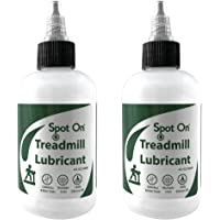 2 Pack of Spot On 100% Silicone Treadmill Belt Lubricant - Made in The USA - Easy Squeeze/Controlled Flow Treadmill…