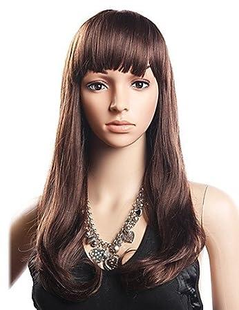 geringster Preis süß offizieller Verkauf Ahom Perücken europäisches Haar 20% Echthaar 80% Synthetic ...