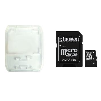Tarjeta de memoria para teléfono HTC Desire C 8GB Class 4 Kingston MicroSDHC MicroSD HC