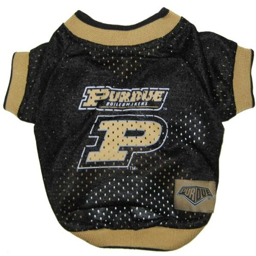 Mirage Pet Products Purdue University Jersey for Dogs and Cats, Small