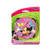 UPD Disney Minnie Mouse Bowtique Pretend Play Toy Tambourine