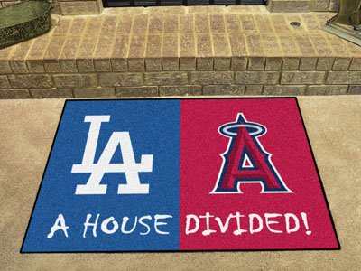 Fanmats MLB House Divided Nylon Face House Divided Rug -