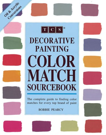 Decorative Painting Color Match Sourcebook - Decorative Books Painting