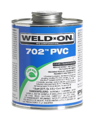 weld-on-10977-clear-702-regular-bodied-pvc-cement-fast-setting-1-2-pint-can-with-applicator-cap