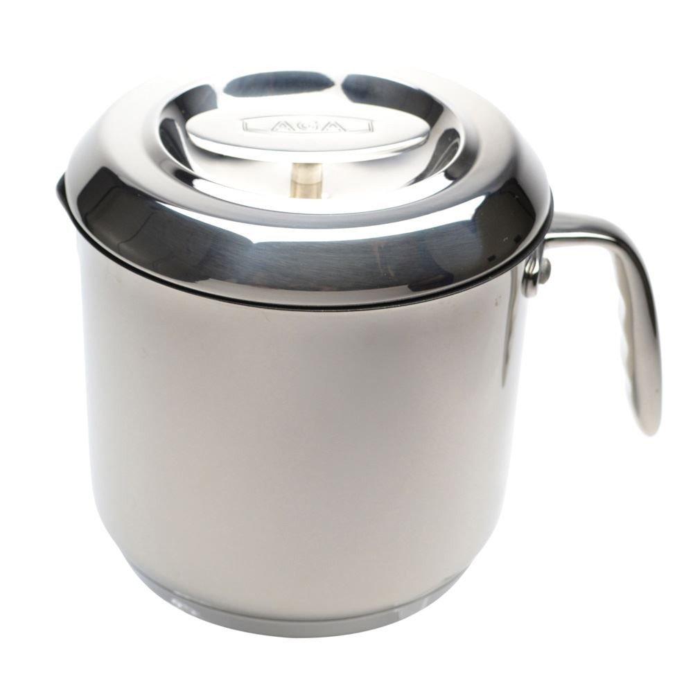 AGA Cookshop Non Stick Sauce Pot With Lid 2.5Litres