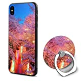 Phone X Case Pink Nature Ring Cell Phone Holder Adjustable 360° Rotation Mobile