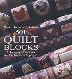 501 Quilt Blocks, Better Homes and Gardens, 0696204800