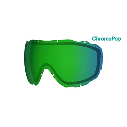 67492de1a10 Smith Optics Prophecy Turbo Adult Replacement Lense Snow Goggles  Accessories - Chromapop Everyday Green Mirror