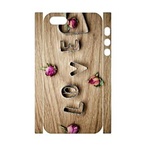 Love Custom 3D Cover Case for Iphone 5,5S,diy phone case ygtg605257
