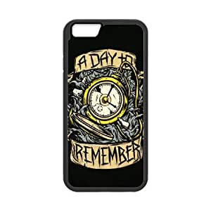 Popular And Durable Designed TPU Case with A Day To Remember iPhone 6 4.7 Inch Cell Phone Case Black