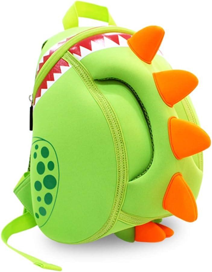Georgie Porgy 3D Mochila Infantiles Animal Bolsas Escolares de Niños Niñas (Dinosaurio)
