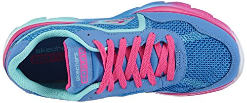 Skechers GO Run Ride Mädchen Sneakers Blau (PWMT)