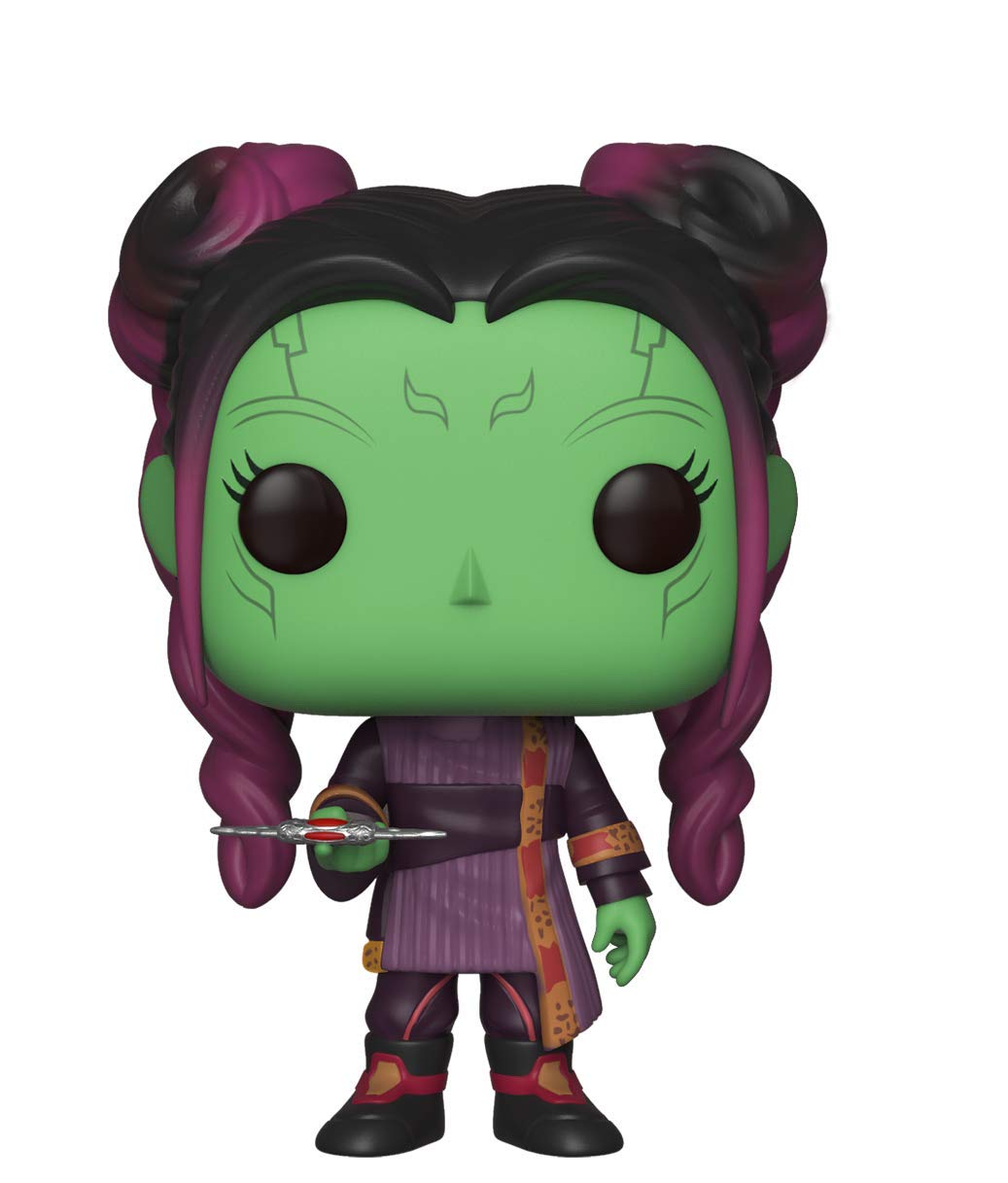Funko Pop Marvel: Avengers Infinity War-Young Gamora with Dagger Collectible Figure, Multicolor