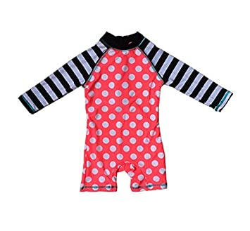 034de3833615e Amazon.co.jp: Bonverano 水着の女の子長袖UPF50 +日焼け止めUVカット ...