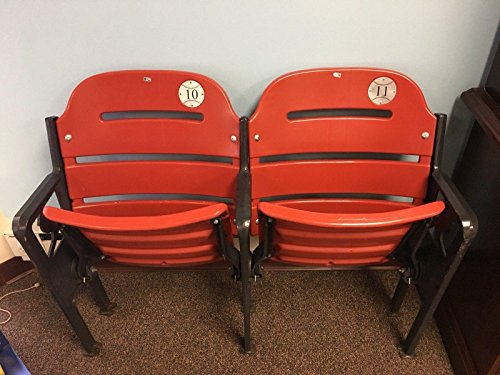 St. Louis Cardinals Busch Stadium Game Used Double Figural Seats MLB HOLO /50 - Game Used MLB Stadium (St Louis Cardinals Stadium Seats)