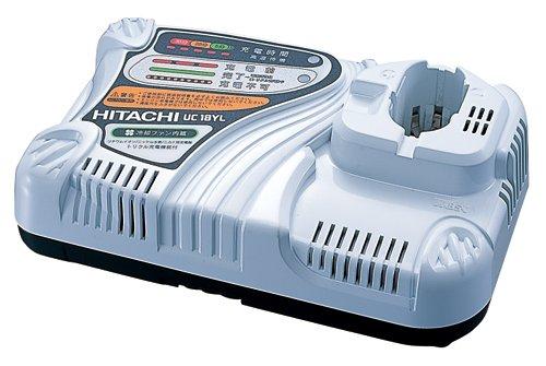 日立工機 急速充電器 差込み式電池対応 冷却機能付 UC18YL