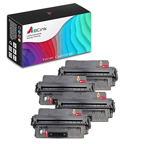 ABCink C4096A 96A Toner Compatible for HP Laserjet 2100m,2100xi,2100tn,2100se,2100,2200,2200dse,2200d Printer Toner Cartridge,5000 Yields(4 Pack,Black)