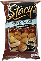 Stacy's Pita Chips Simply Naked Bagel Chips, 8 Oz