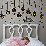 Amazon Price History for:Happy Halloween DIY Wall Decals Wall Stickers Indoor Party Decorations for Kids Rooms Nursery Rooms Window Shop