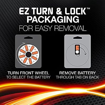 8 Energizer ZA312 hearing aid batteries1.4 V312A, HA312, V312AT, DA312,: Home Audio & Theater