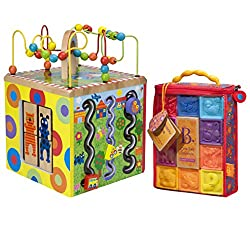 Alex Toys Alex Jr. My Busy Town Play Cube with Squeeze Blocks