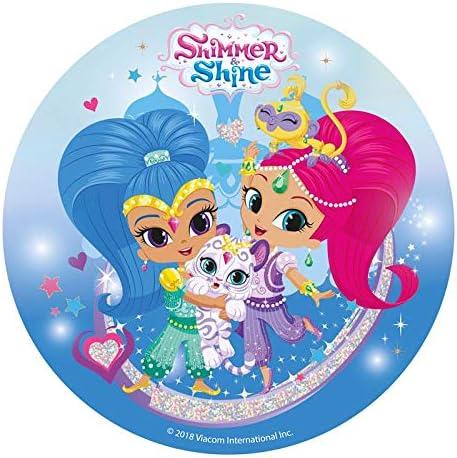 Shimmer & Sheine - Decoración para tarta de azúcar comestible (20 ...