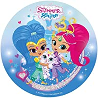 Shimmer & Sheine - Decoración para tarta de azúcar comestible (20 cm) Producto con