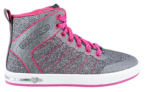 Skechers Shootouts Glitzy Ritz high sneakers meisjes (84304L GYHP)