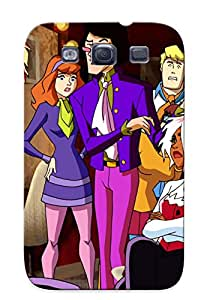 S3 Scratch-proof Protection Case Cover For Galaxy/ Hot Doo Get A Clue And Pink Panther Pal On Good Morning Cooby Doo Phone Case