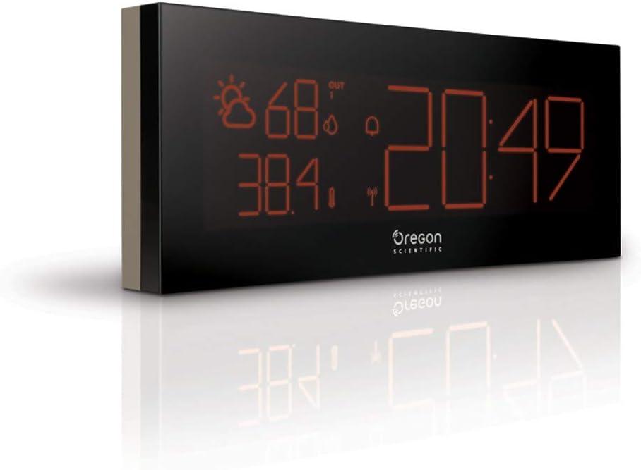 Oregon Scientific BAR292 - Estación meteorológica con reloj ...
