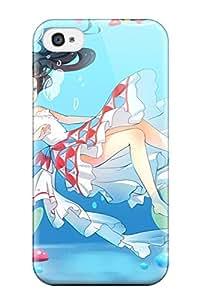 original anime girl under Anime Pop Culture Hard Plastic iPhone 4/4s cases 9958735K303141906