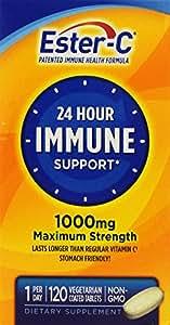Ester-C Vitamin C, 1000 mg, 120 Tablets (Pack of 2)