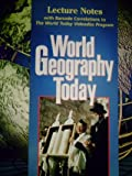 World Geography Today, Holt, Rinehart and Winston Staff, 0030544777