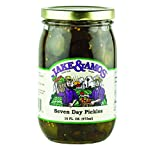 Jake & Amos Seven Day Pickles 16 Oz. (3 Jars)