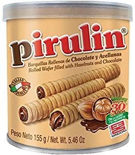 Sindoni Pirulin Barquillo de Chocolate - 155 gr