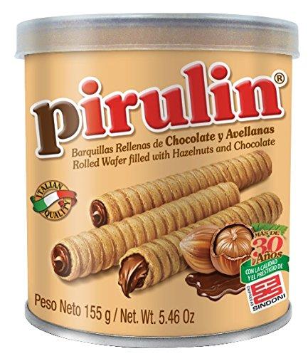 Sindoni Pirulin Barquillo de Chocolate - 155 gr: Amazon.es: Alimentación y bebidas