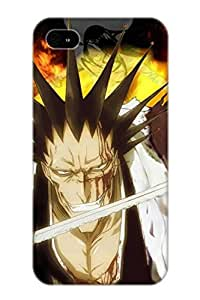 Guidepostee Anti-scratch And Shatterproof Anime Bleach Phone Case For Iphone 4/4s/ High Quality Tpu Case