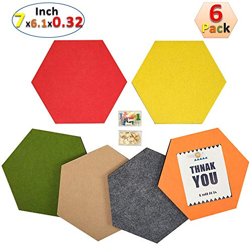 UniLiGis Hexagon Bulletin Display 7x6 1x0 32 product image