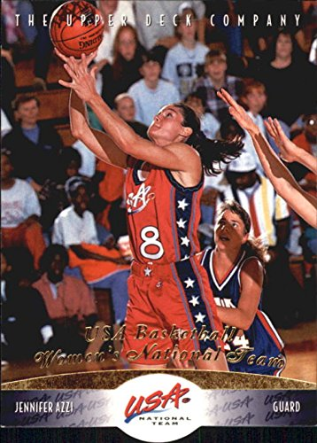 1996 Upper Deck USA #61 Jennifer Azzi - Usa Jennifer