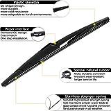 AUTOBOO Rear Windshield Wiper Arm Blade For Kia
