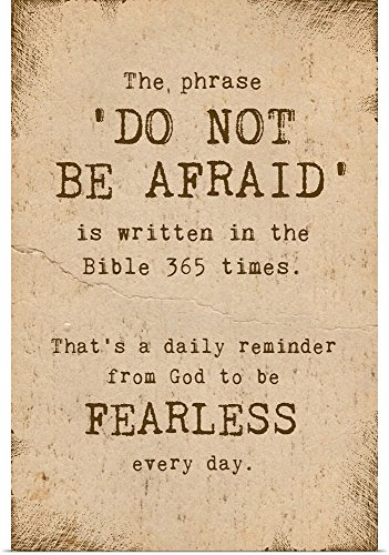 greatBIGcanvas Poster Print entitled Do Not Be Afraid by Vel