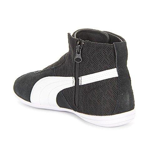 Puma - Eskiva Mid Textured Wns - 36102601 - Couleur: Blanc-Noir - Pointure: 40.5
