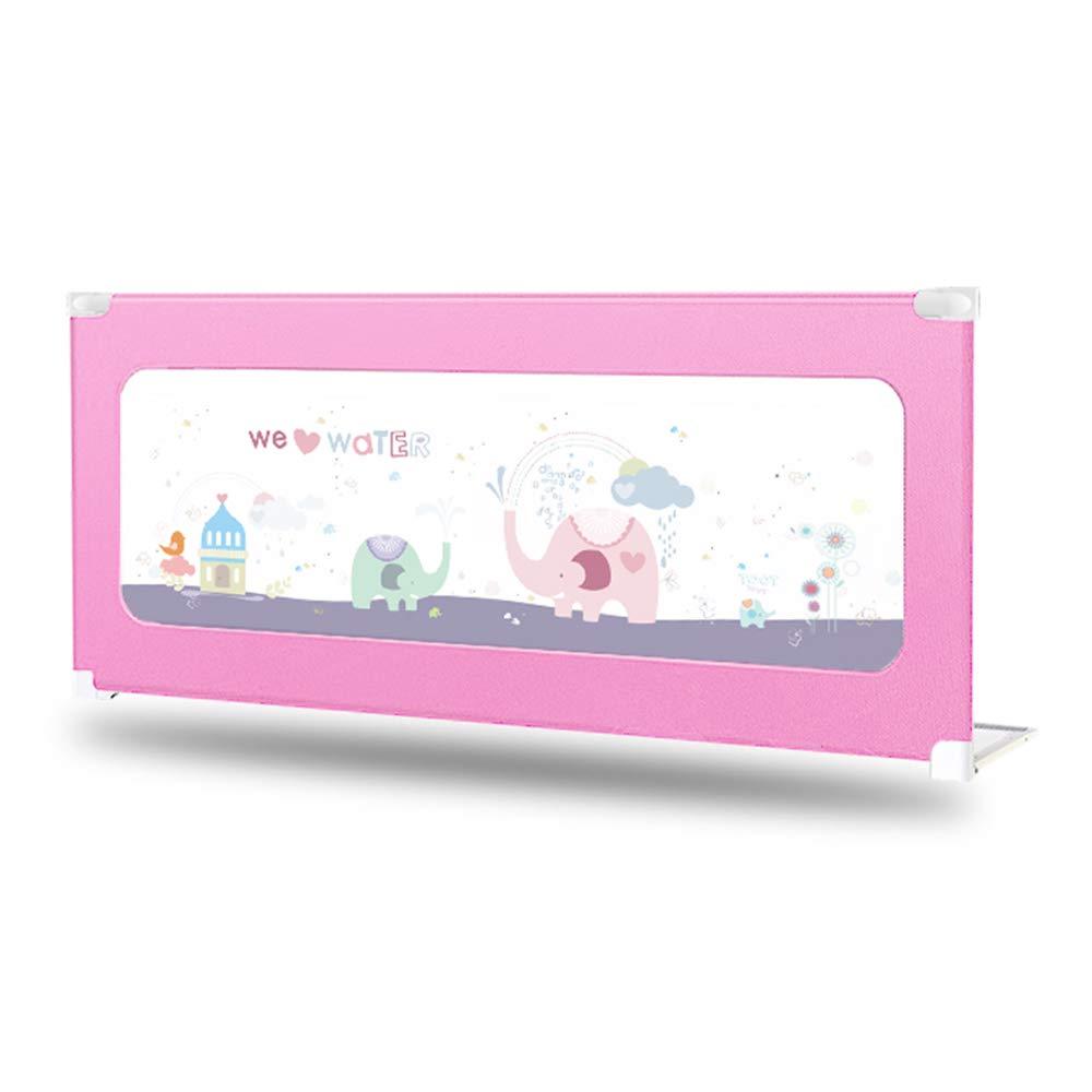 【送料無料/即納】  子供用ベッドのフェンス、赤ちゃんの反秋ベッドガードレール、垂直持ち上げベビーベッドのバッフルは、80cm pink、第三ギアの調整、赤ちゃんのクロールのゲームのフェンスを上下させることができます 180 B07JBR9WR3 180*80cm*80cm pink B07JBR9WR3, Used & Vintage 驚屋70:c1558eeb --- a0267596.xsph.ru