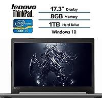 2018 Latest Lenovo Flagship Laptop, 17.3 (1600 x 900) Display, Intel Core i5-7200 Processor, 8GB DDR4 Memory, 1TB Hard Drive, Windows 10 (Platinum Gray)